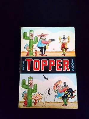 The Topper Annual 1965 Vintage U.K Comic Hardback