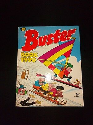 Buster Book 1990 Vintage U.K Comic Annual