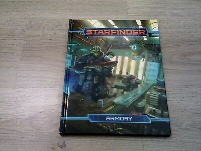 Starfinder Roleplaying Game Armory Hardcover Paizo 2018 englisch New Mint