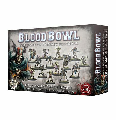 Blood Bowl Champions of Death Team Games Workshop Fantasy Football Untote Zombie