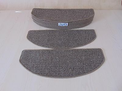 14 Open Plan Stair Carpets/Pads treads 65cm x 24cm #2453-12