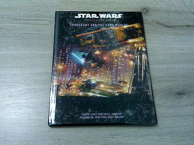 Star Wars Coruscant and the Core Worlds Hardcover 2003 Wizards of the Coast d20