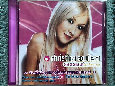 Christina Aguilera - Come on over baby (Thailand Promo CD) Pink Cover Ultra RARE