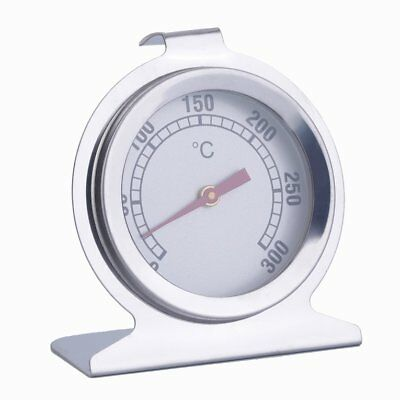 Stainless Steel Oven Thermometer Kitchen Cooking Meat Tool 300°C New&#