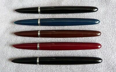 One Parker 51 Barrel/Shell/Filler unit in Various colours