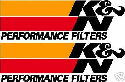 3 X K&N Logos Graphics Stickers Decals K & N Filters