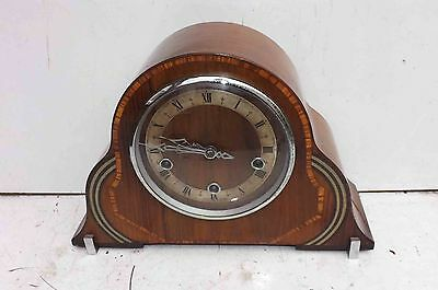 art deco clock, has mechanical westminster chimes movement.