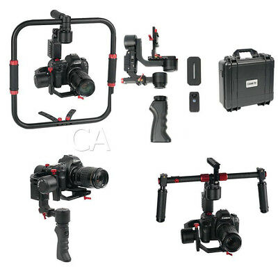 CAME-TV PROPHET Gimbal BUNDLE Orbit-2 & Dual handles 2 batteries charger etc UK