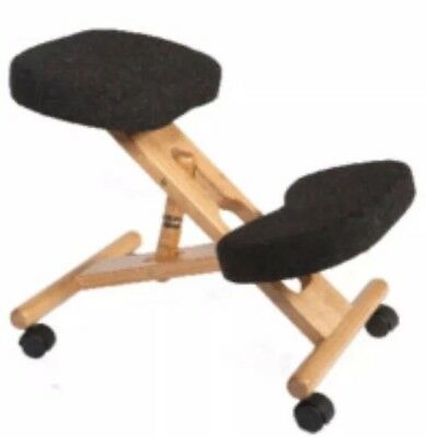 Teknik POSTURE WOODEN KNEELING CHAIR CHARCOAL