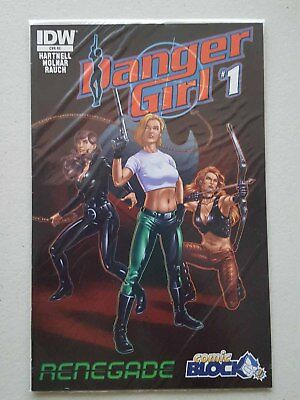 Danger Girl: Renegade #1 - Comicblock Variant - Idw Comics