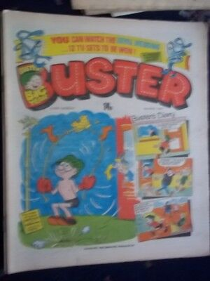 Buster  Comic.[ 9Th May 1981].  Royal Wedding Contest Inside