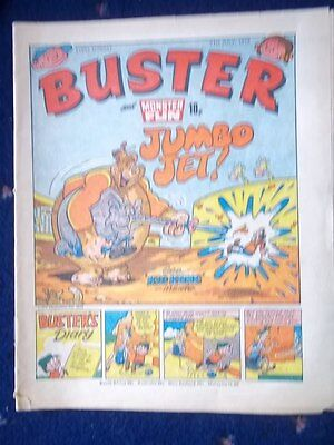 Buster & Monster Fun  Comic.[21St July 1979] Face Ache / Keen And Mustard
