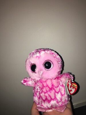 967343ebad2 LARGE TY BEANIE Boos Soft Plush Oliver the Owl Camo Toy New With Tag ...