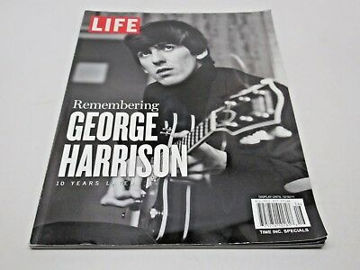 LIFE Magazine Remembering George Harrison 10 Years Later Book