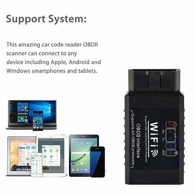Wifi Car OBD2 Diagnostic Tool Scanner Code Reader for iOS and AndroidFG