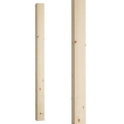 Plain Square Stair Newel Post 90mm - Select Timber and Type