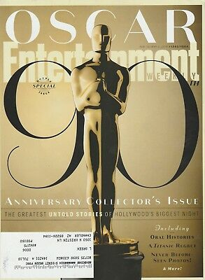 Entertainment Weekly OSCAR: 90 Annivserey Collectors Issue February 23 2018