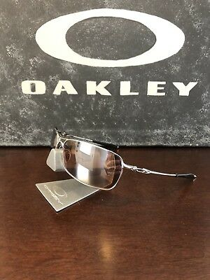 ab4316db43 Oakley Crosshair 2.0 Polished Chrome VR28 Black Iridium Sunglasses OO4044-05