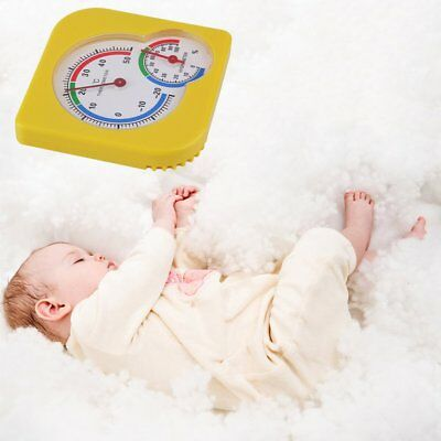 Mini Nursery Baby House Portable Thermometer Wet Hygrometer Temperature Meter&#