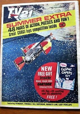 TV CENTURY 21 Summer Extra 1965 Special Stingray/Daleks/Fireball xl5/Lady Penelo