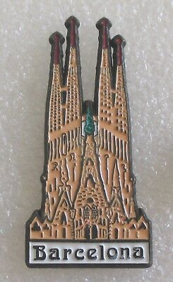 City of Barcelona - Spain Tourist Travel Souvenir Pin - Sagrada Familia