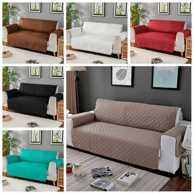 1/2/3 Seat Sofa Cover Couch Loveseat Slipcover Pet Dog Mat Furniture Protector