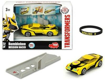 Dickie Toys Transformers Bumblebee Mission Racer NEU