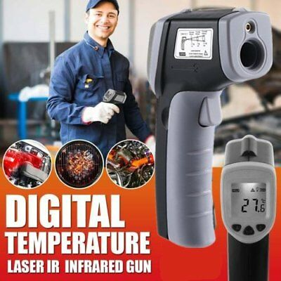 Handheld Digital Laser Thermometer Temperature Non-Contact IR Infrared Gun NR