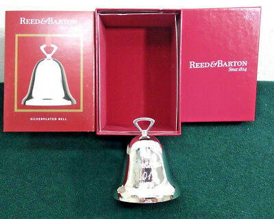 """Reed & Barton Ornament """"Christmas 2012"""" Bell Ornament Silver-plated      (OR10)"""
