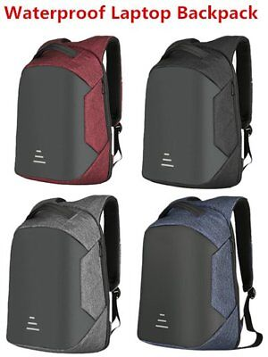 2019 Men Anti-theft Waterproof Backpack Laptop School Bag USB Charging lot R6hV