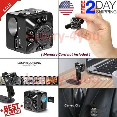 Cop Cam Security Camera FHD1080 32Gb Card Motion Detection Night Vision Recorder