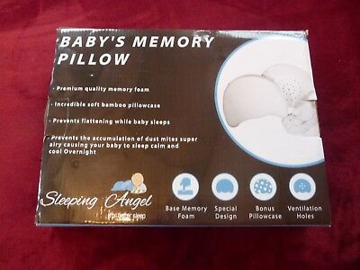 Sleeping Angel Baby's Memory Pillow with Ventilation Holes ~NEW, Ships Free 2782