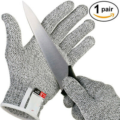 Safety Cut Proof Stab Resistant Stainless Steel Gloves Metal Mesh Butcher Size S