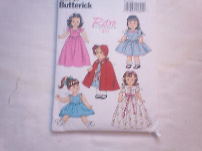Butterick Sewing Pattern #6149 - 18  inchDoll clothes