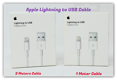 Genuine OEM Apple Lightning to USB Charging Data Cable for iPhone XS iPhone 8/8+