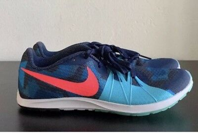 d7fbc751559f Nike Track Shoes Zoom Rival XC Racing Blue Pink 904717-406 Women s Size 10
