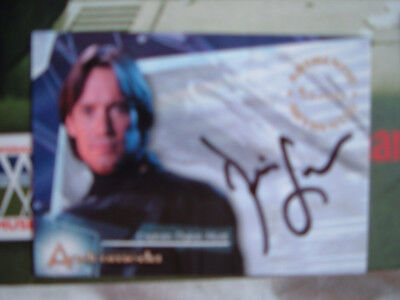 Andromeda Kevin Sorbo Autograph Card A1 as Captain Dylan Hunt with redemption