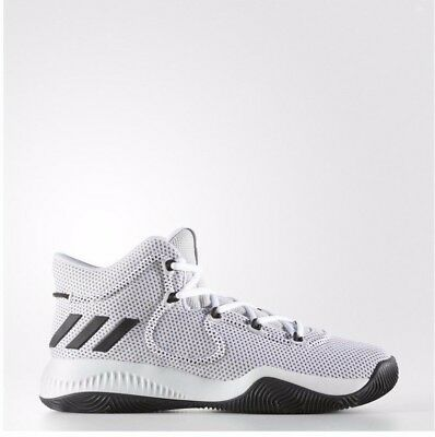new products a942c 5f943 New Mens Adidas Crazy Explosive Td Basketball Sneakers White Size 9.5 By4493