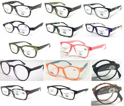 2018 New Quality Plastic Reading Glasses *Multi Style* Fashion&Comfort Designed