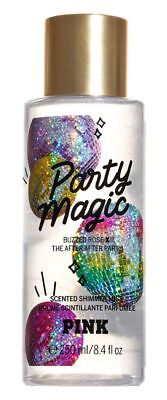 Victoria's Secret Pink New! PARTY MAGIC Scented Shimmer Body Mist 250ml