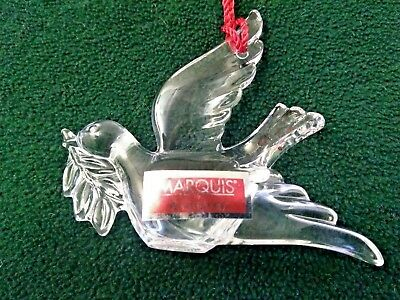 Marquis by Waterford Ornament Noah's Ark Series Dove     139907           (OM10)