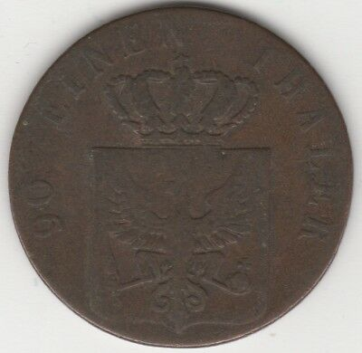 1837 A German States Prussia 4 Pfennig   Coins   Pennies2Pounds