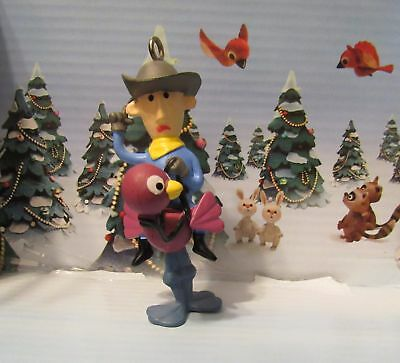 Rudolph Misfit Ornament From Misfit Island Cowboy on Ostrich Misfit Toy Ornament