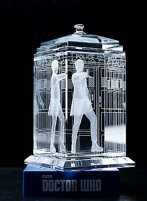 Doctor Who TARDIS Twelfth Peter Capaldi Crystal Collectible BBC Licensed