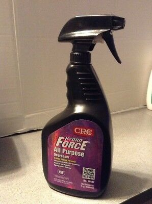 CRC 14407 HYDROFORCE All Purpose Degreaser - 32 Oz  - New