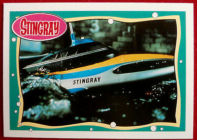 STINGRAY - Card #18 - Sleek and Deadly - issued by Topps, 1993 Gerry Anderson