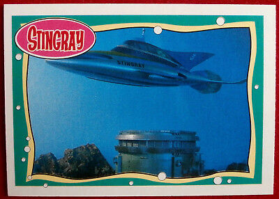 STINGRAY - Card #21 - Power Source - issued by Topps, 1993 - Gerry Anderson