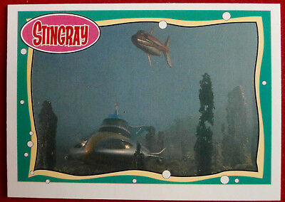 STINGRAY - Card #17 - Dive! Dive! Dive! - issued by Topps, 1993 Gerry Anderson