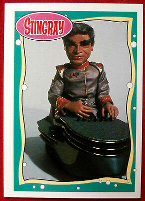 STINGRAY - Card #14 - Commander Sam Shore - issued by Topps, 1993 Gerry Anderson