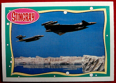 STINGRAY - Card #09 - WASP Interceptor Jets - issued by Topps, 1993